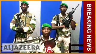 🇬🇦 Gabon soldiers seize national radio station in coup attempt l Al Jazeera English