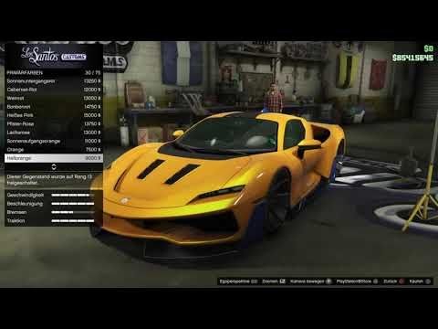 Grand Theft Auto V Online   Neue Autos Tuning Stunde  {Ps4}