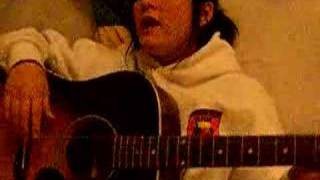 dgaf on the guitar