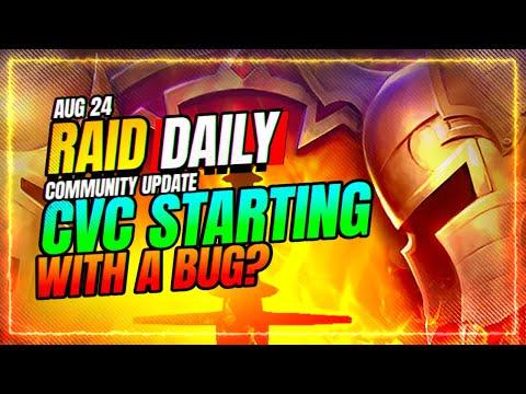 CvC Points Are BUGGED?! | RAID Shadow Legends