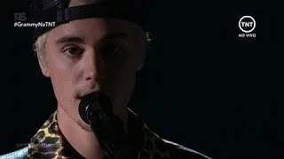 Justin Bieber Performance 'Where Are You Now' At Grammys Awards 2016 VIDEO