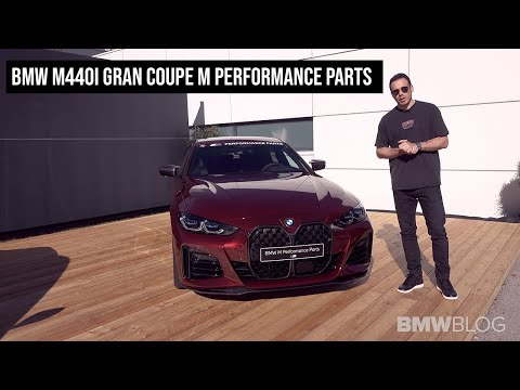 2022 BMW M440i Gran Coupe M Performance Parts | FIRST LOOK | 4K