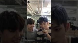 24K (투포케이) - (2017.06.24) Jinhong & Hongseob Live Instagram
