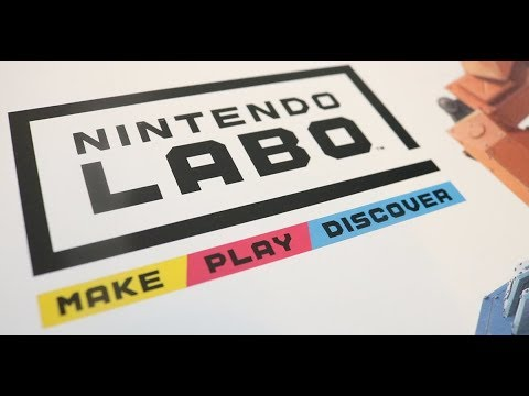 Nintendo Labo Webhallen Unboxing