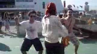 Dança do siri (com os piratas)