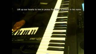 Blessings Glory and Honor (lyrics) TD Jakes piano