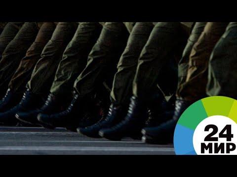Столетний юбилей ВС Беларуси отметили военной реконструкцией - МИР 24