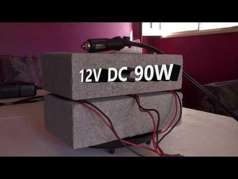 DIY Thermal Brick Space Heater! - Over 10 Lbs. of Thermal Mass! - Works Awesome! - Only 12v 90w!