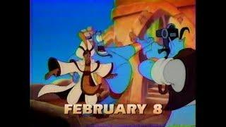 Aladdin King of Thieves and Pocahontas ABC Disney Promo (February 1998)