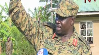 UPDF soldiers fight and disband armed group in Kabarole district