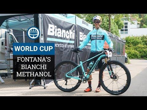 """Marco Fontana's Bianchi Methanol - The Weight"""" No Idea"""