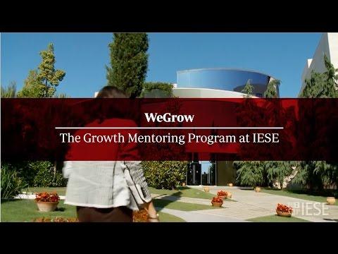 WeGrow: The Growth Mentoring Program at IESE