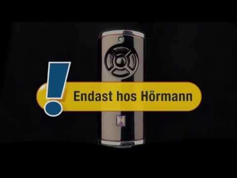 Hörmann informationsfilm: Fjärrsystemet BiSecur - Säkert, bekvämt och exklusivt