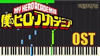 Boku no Hero Academia OST - My Hero Academia (Piano Tutorial) [Synthesia]