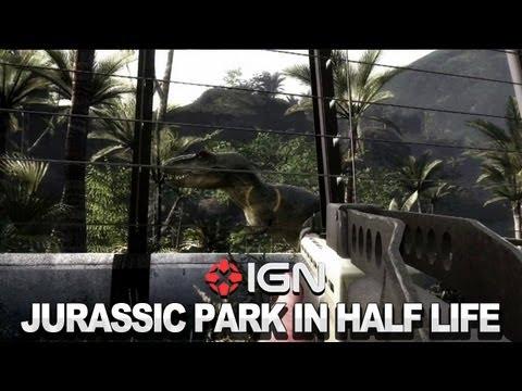 IGN News - Jurassic Park Game Mod for Half-Life 2