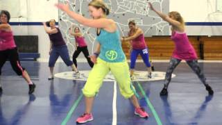 Zumba Routine to I Know You Want Me by Pitbull