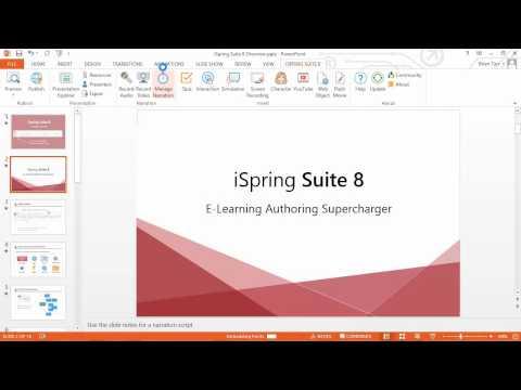 Jak dodać i synchronizować narrację w szkoleniu e-learningowym za pomocą iSpring Suite?