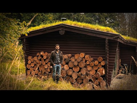 Log Cabin with Living Roof: 10 Day Scottish Highland Adventure