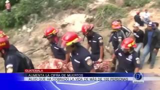 Aumenta la cifra de muertos en Guatemala