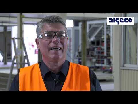Professionelle Desinfektion von Raummodulen in Kooperation mit BELFOR | ALGECO