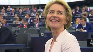 Ue, Ursula von der Leyen è la nuova presidente della Commissione: l'annuncio di David Sassoli