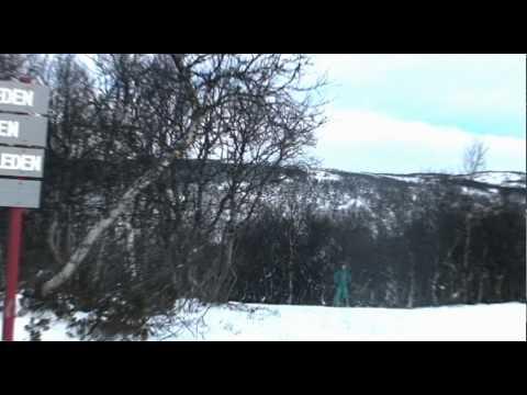 En liten glimt av första åket i Ramundberget 2011!
