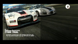 Real Racing 3 DASH CAM FORD GT 2005 TIME TRIAL MOUT PANORAMA AUSTRALIA