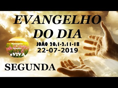 EVANGELHO DO DIA 22/07/2019 Narrado e Comentado - LITURGIA DIÁRIA - HOMILIA DIARIA HOJE