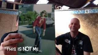 "Skateboarder40+ first skate photo interview with Peter ""Dietsches"" Diepes born 1963 GER"