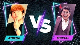 Mortal vs Athena Gaming | Pubg Mobile Pro TDM 1vs1 Scrim | Biggest Pubg Collab