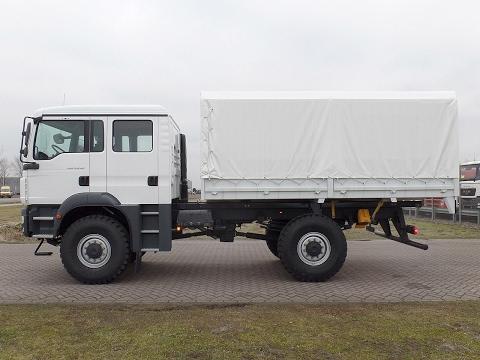 ma3889 - MAN TGM 13.240 BB 4x4 with tarpaulin - NEW