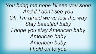 Dave Matthews Band - American Baby Lyrics