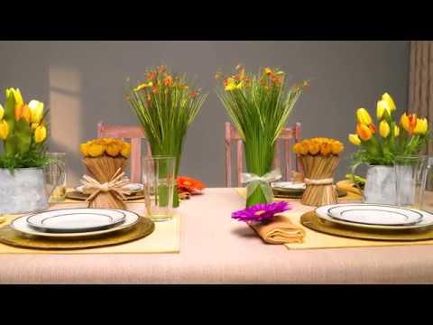 Hosting at Home! | Springtime Tablescape