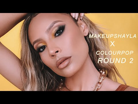 I USED THE MAKEUPSHAYLAXCOLOURPOP COLLECTION AND?