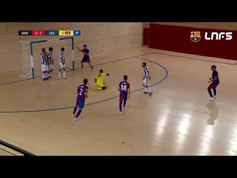 Barça B 9-2 CD Leganés Jornada 7 Segunda División Temp 21/22