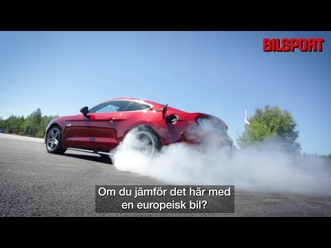 Nya Ford Mustang GT i Bilsport Superstage (Bilsport 1/2019)