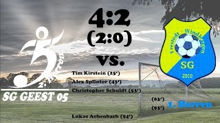 Highlights SG Geest 05 II vs. SG Windbergen/Frestedt - 4:2 (2:0)