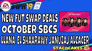 FIFA 19 FUT SWAP DEAL SBCS - JANUZAJ, ALCACER, LALLANNA AND EL SHAARAWY - FUT SWAP ITEM INFORMATION