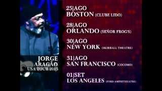JORGE ARAGAO USA TOUR 2013