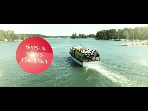 M/S Victoria - Charter Cruises in Helsinki archipelago
