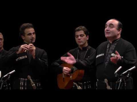 喬治亞魯斯塔維合唱團安可曲  2016雲門劇場最美的聲音 - YouTube