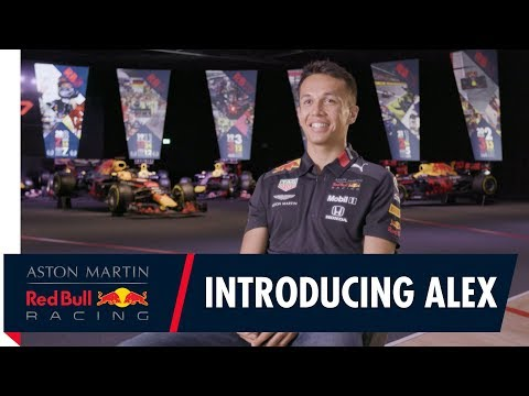 Introducing Alex Albon | The first words from our new Aston Martin Red Bull Racing driver