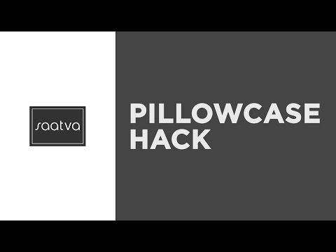 Pillowcase Hack | Saatva Mattress