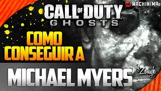 "Call of Duty Ghosts: Como Conseguir Killstreak ""Michael Myers"" (Onslaught DLC Gameplay)"