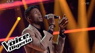"Michael Meme sings ""Everybody Knows"" / Live Show / The Voice Nigeria 2016"