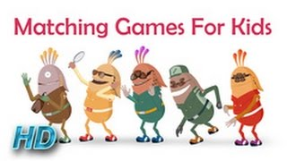 Logic and Problem Solving games for children | Matching games