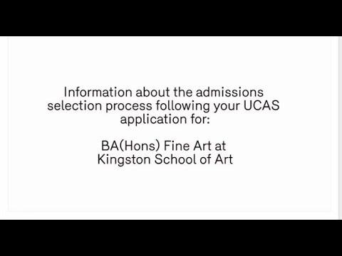 Kingston University - Information for Fine Art students