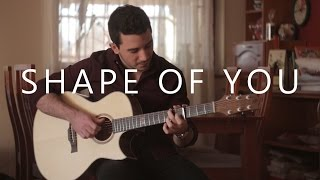 Shape Of You - Ed Sheeran (fingerstyle guitar cover by Peter Gergely)