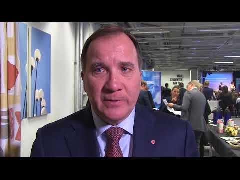 Stefan Löfven om svensk innovation och livsvetenskaper