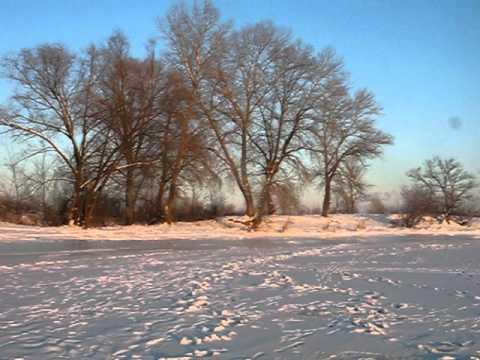 Собаче гирло, sunset (Feb. 11, 2012)